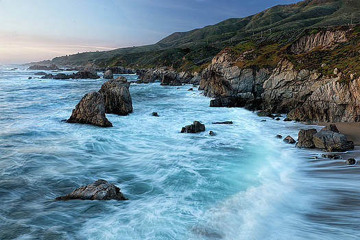 California Coast by Eric Bjerke Sr