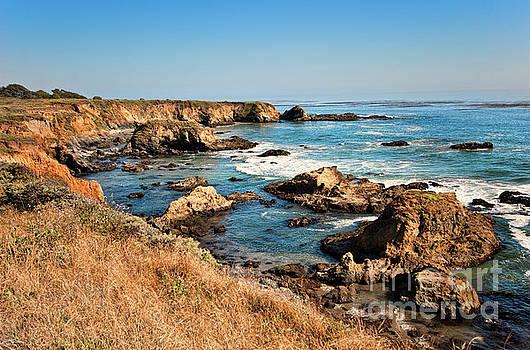 Dan Carmichael - California Coast Rocky Cliffs