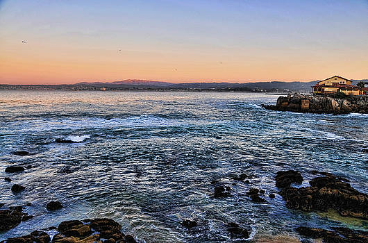 California Coastal Twilight by Lorrie Morrison
