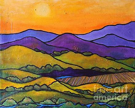 California Foothills by Chaline Ouellet