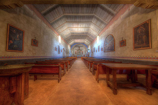 California Mission Three by Kevin L Cole