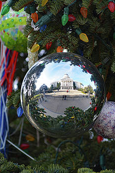 California State Capital Christmas by Pamela Patch