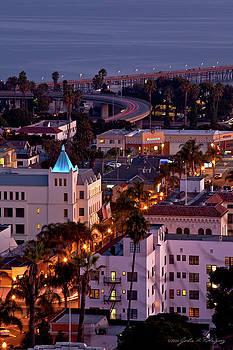 California Street at Ventura California by John A Rodriguez