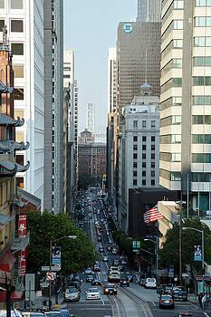 California Street San Francisco by Andy Myatt