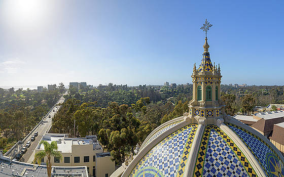 California Tower View by Alexander Kunz