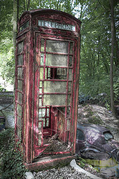 Call Box in Distress by Steven Coppenbarger