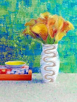 Calla Lilies in Bloom by Debra Jones