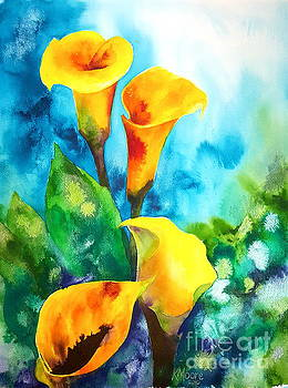 Calla Lilies by Kristine Moore