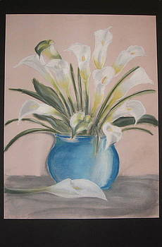 Calla Lilies by Maria Mills