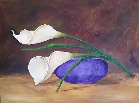 Calla Lilies by Sallie Wysocki