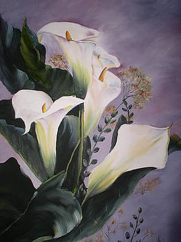 Calla Lillies by Monica Chiasson