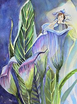 Calla Lily Fairy by Mindy Newman