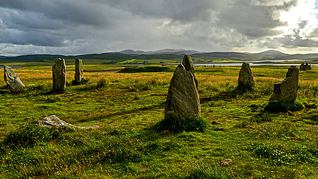 Callanish 3 at Dusk by Archaeo Images