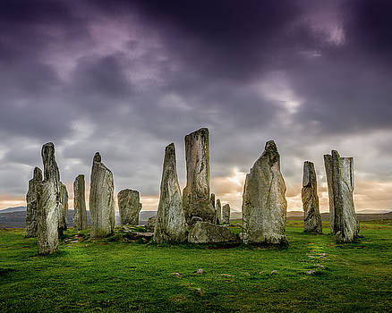 Callanish Stone Circle, Scotland by Peter OReilly