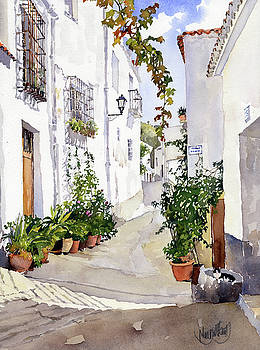 Calle de Ohanes by Margaret Merry