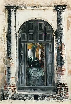 Michael Earney - Calle Tapachula - 2 doors open