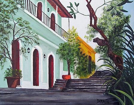Callejon Del Hospital by Gloria E Barreto-Rodriguez