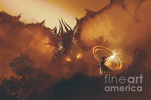 Calling Of The Dragon by Tithi Luadthong