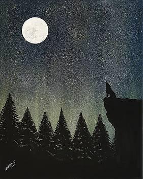 Calling The Moon by Edwin Alverio