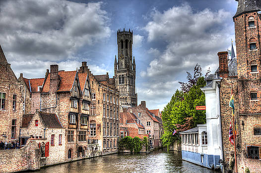 Calm Afternoon in Bruges by Shawn Everhart