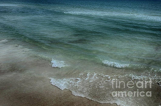 Calm Atlantic Surf by Judy Hall-Folde