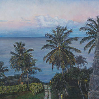 Calm in the Carribean by David P Zippi