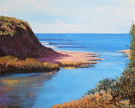 Calm Lagoon by Bob Hasbrook