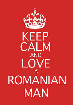 Calm Man and Love a Romanian Man by Marius Sipa