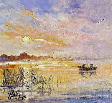 Calm morning by Irek Szelag