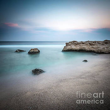 Calm Red Sea 1x1 by Hannes Cmarits