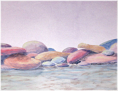 Calm Rocks by Kenneth McGarity