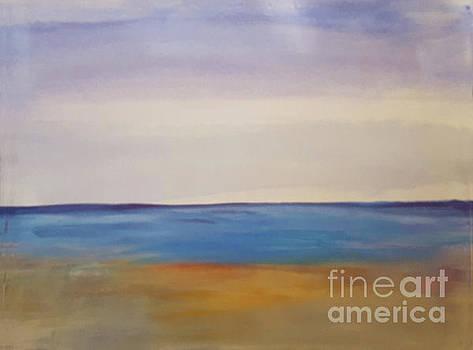 Donna Walsh - Calm Sea at Beach