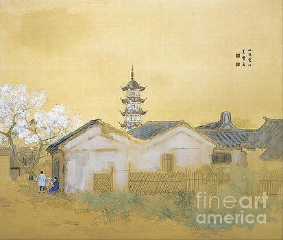 Calm spring in Jiangnan by Reproduction