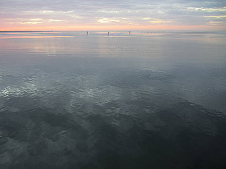 Calm Sunset on the Bay by Jim Clark