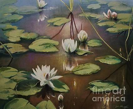 Calming Pond by Lin Petershagen