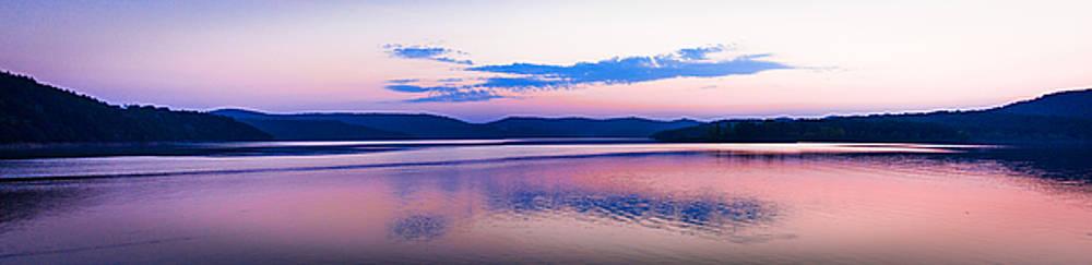Calming Waters Meet Gentle Hills by Laura Wiksten