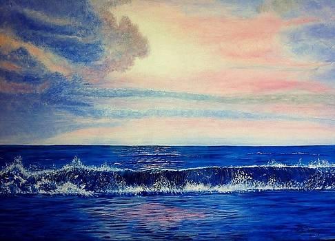 Calming Wave by Robert Monk