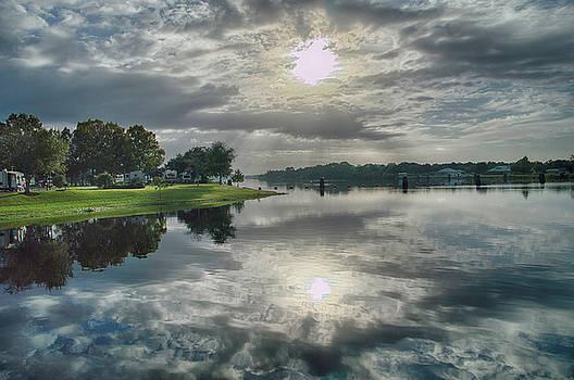 Caloosahatchee at Daybreak by Judy Hall-Folde