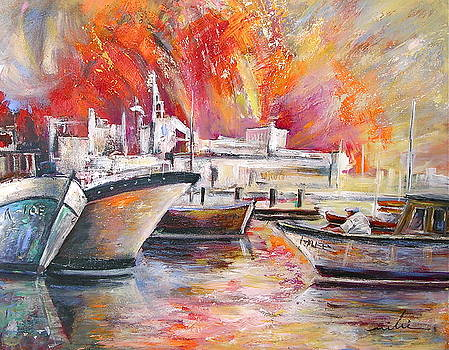 Miki De Goodaboom - Calpe Harbour Spain