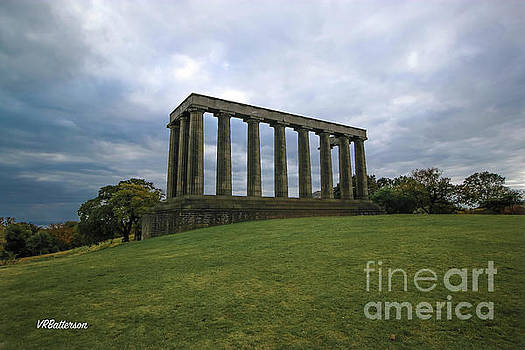 Calton Hill and the National Monument of Scotland by Veronica Batterson
