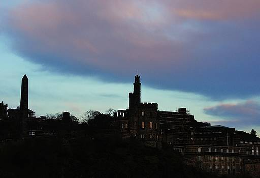 Calton Hill Sky 2 by Nik Watt