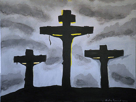 Three Crosses by Kate Farrant