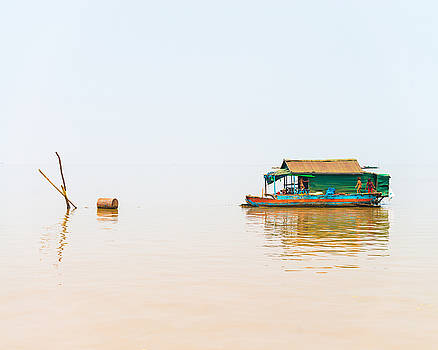 Cambodia Siem Reap Floating Village by Cory Dewald