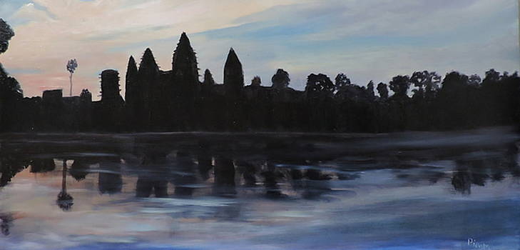 Cambodia Temples by Betty Pimm