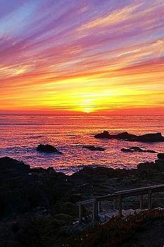 Cambria Sunset by Becky Kurth
