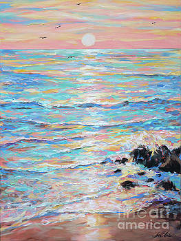 Cambria Sunset by Linda Olsen