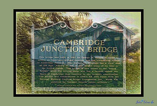 Cambridge Jct. Bridge History by John Selmer Sr