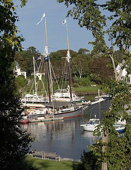 Camden Harbor by Charles  Ridgway