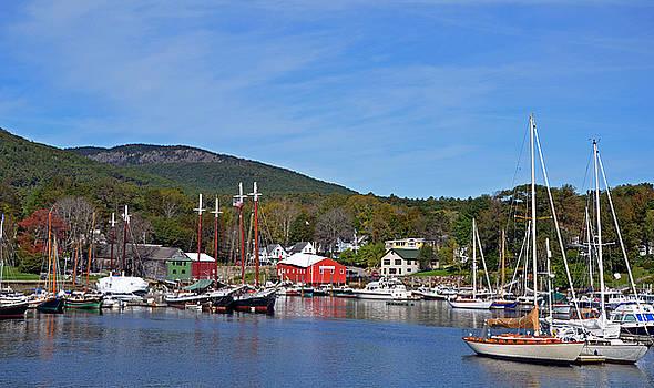 Corinne Rhode - Camden Harbor