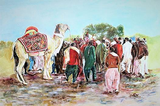 Camel and  culture by Khalid Saeed